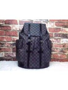 Louis Vuitton Damier Graphite Canvas Christopher PM Backpack N41379 ... 1147f5f3f84a9