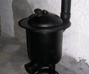 Diy Wood Burner Pot Belly Stove Made From A Gas Tank