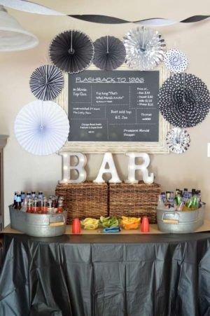 Bar Birthday Decorations Adult Th Ideas For Men Beer Party Also Para Que Tu Cumple Sea