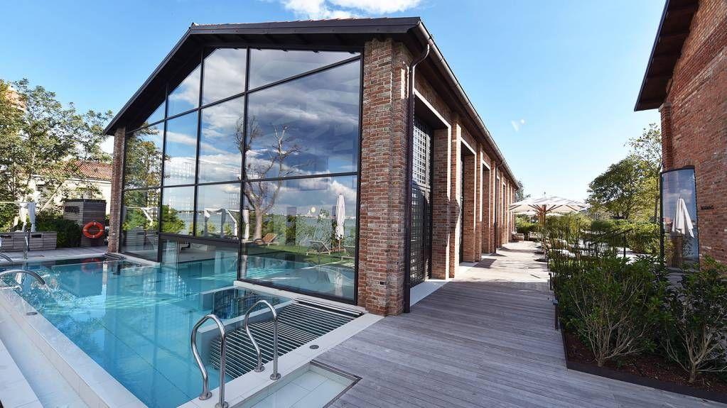 Finestre e porte facciata acciaio zincato acciaio corten - Finestre in acciaio ...