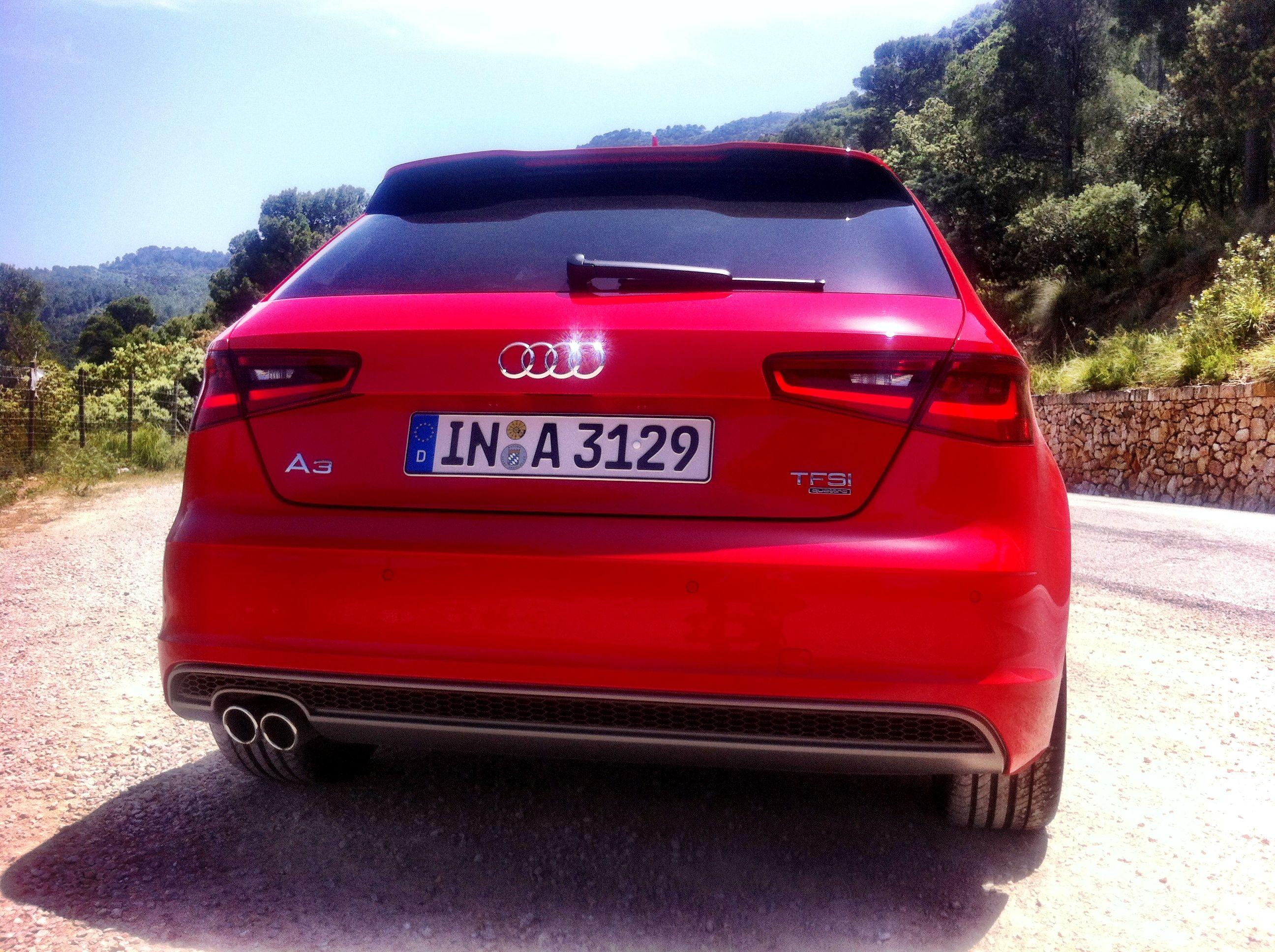 The new #Audi #A3  1,8 TFSI Quattro