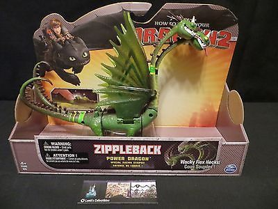 Belch and Barf Zippleback Racing Stripes How to Train Your Dragon Spinmaster