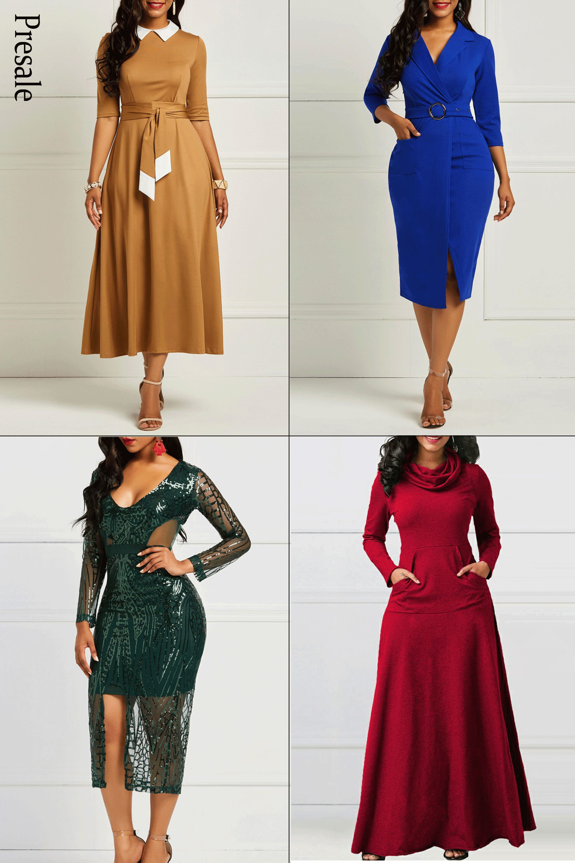 Those dresses are all new fall presale ,different styles, the same  wonderful,which one would you pick   c33f73b687
