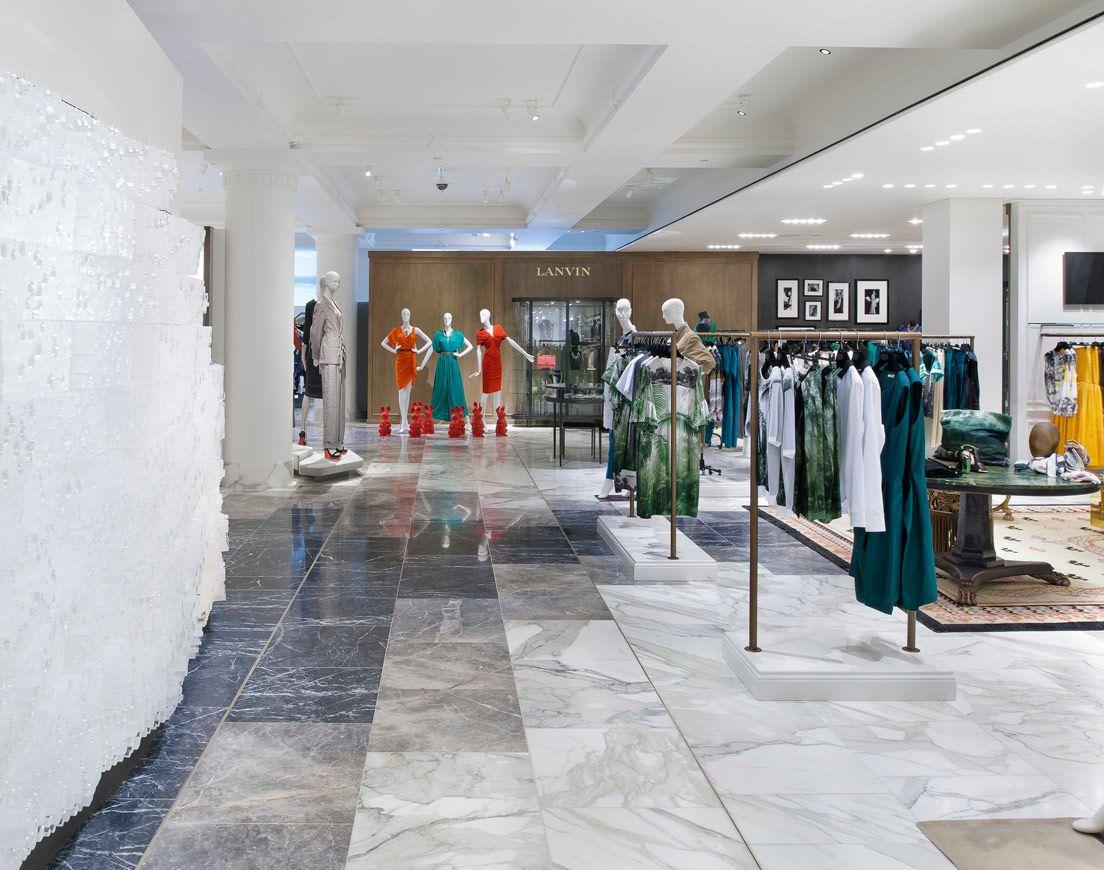 Selfridges Designer Floor Retail Design Flooring Marble Floor