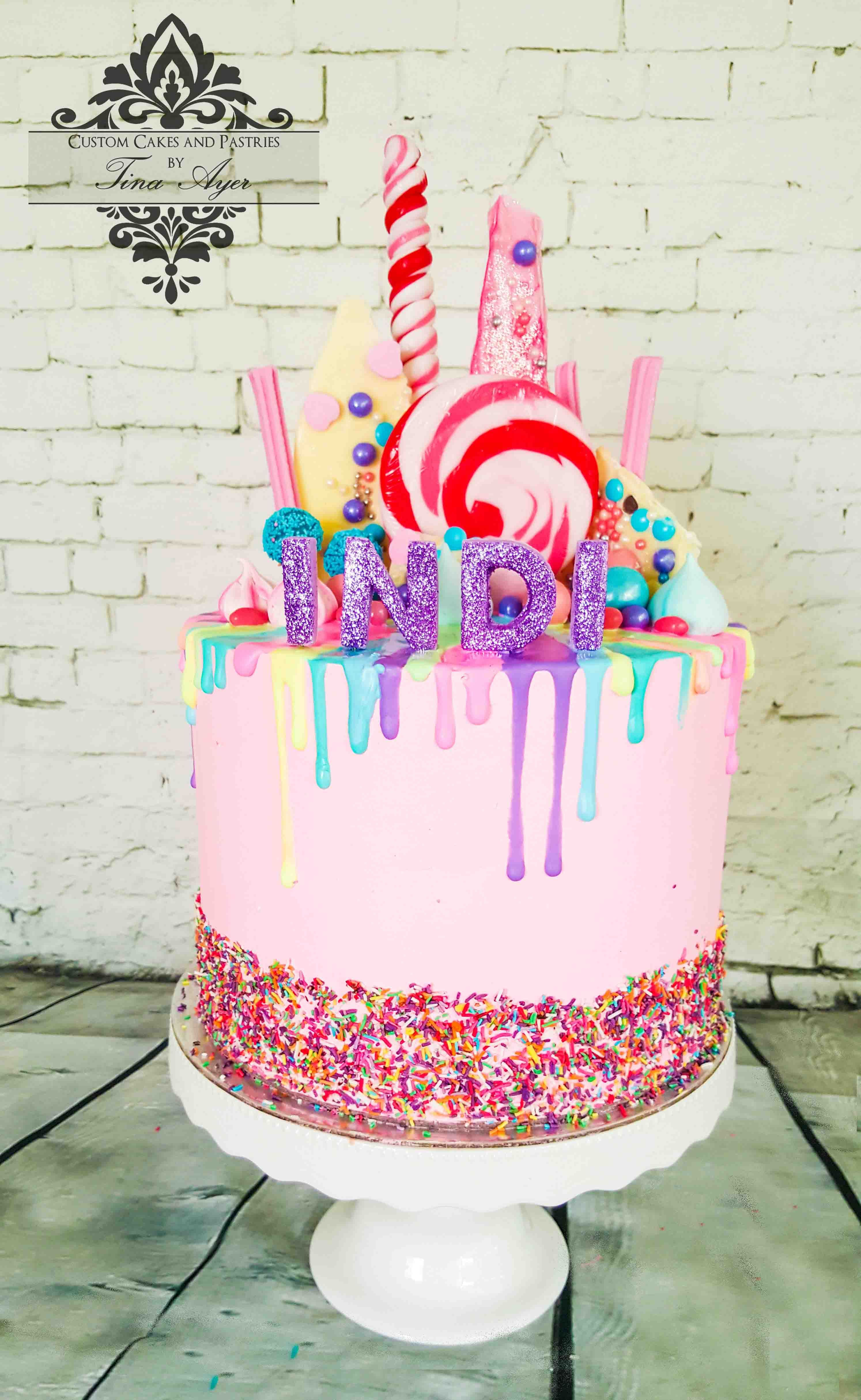 Drip Cakes Are The More Affordable Solution To Your Childs Birthda