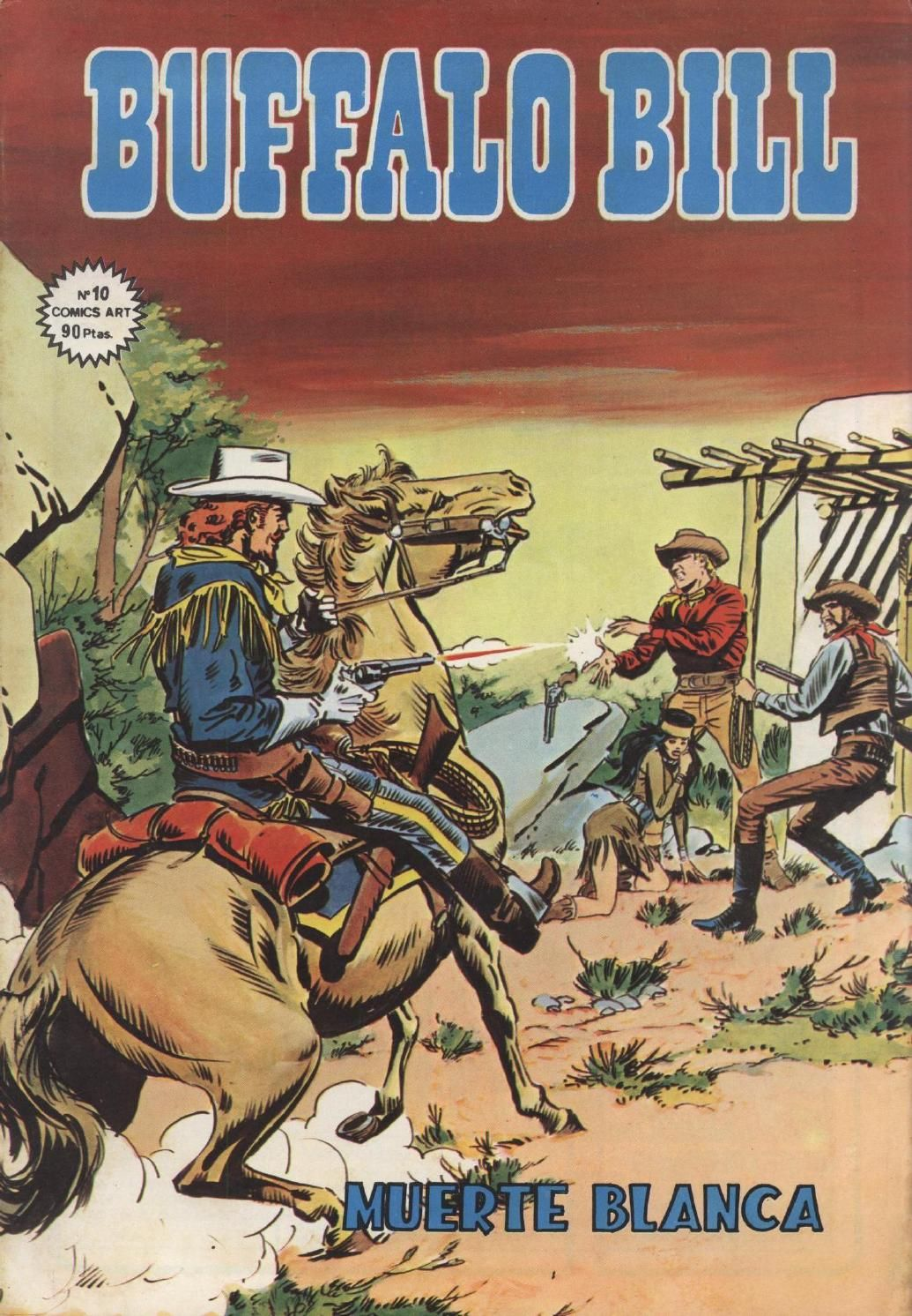 Buffalo Bill Nº 010 Mindi Comics Buffalo Bill Nº 010 Mindi Comics