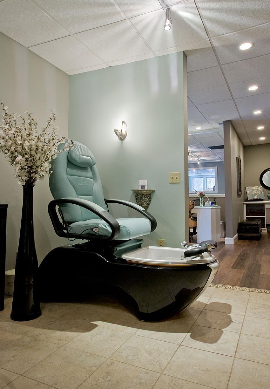 Elavina salon and spa salon decor nail salon decor