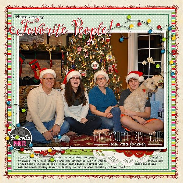 Barbara's Cre8ive Escape: December Traditions: Favorite People & Favorite Recipes