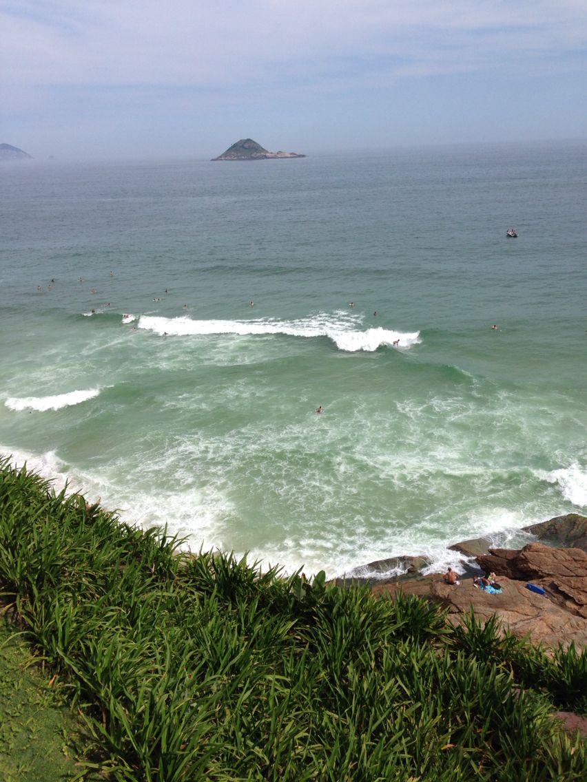 Praia da Joatinga no Rio de Janeiro.