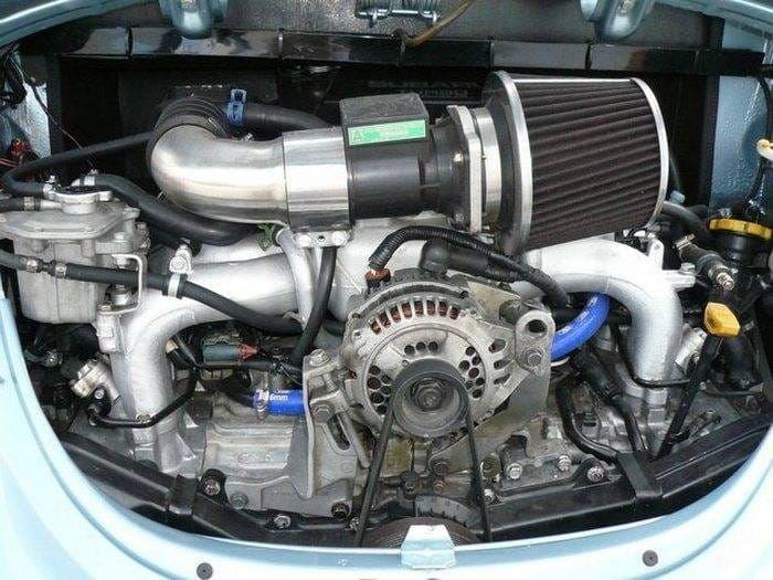 Volkswagen Beetle STi, el espíritu boxer llevado al límite con motor Subaru - Diariomotor
