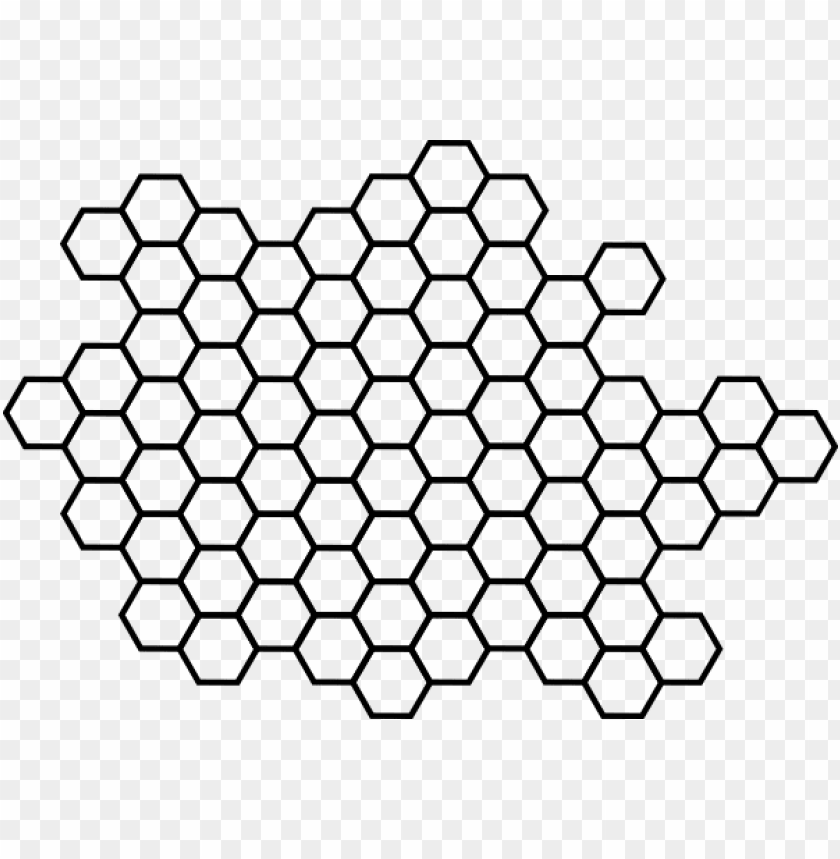 Hexagon Clip Art Clip Art Honeycomb Png Image With Transparent Background Png Free Png Images Honeycomb Hexagon Print Clip Art