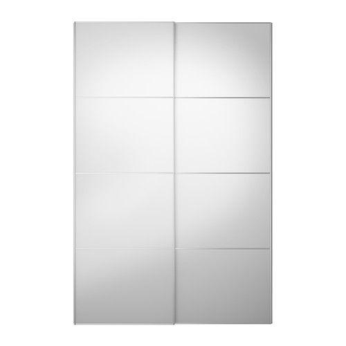 AULI Liukuovipari - 150x236 cm, oven vaimennin  - IKEA