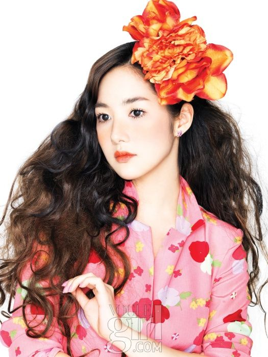 Vogue Girl 03 2011 Park Min Young Pink Wings Park Min Young Young Park Girl Korea