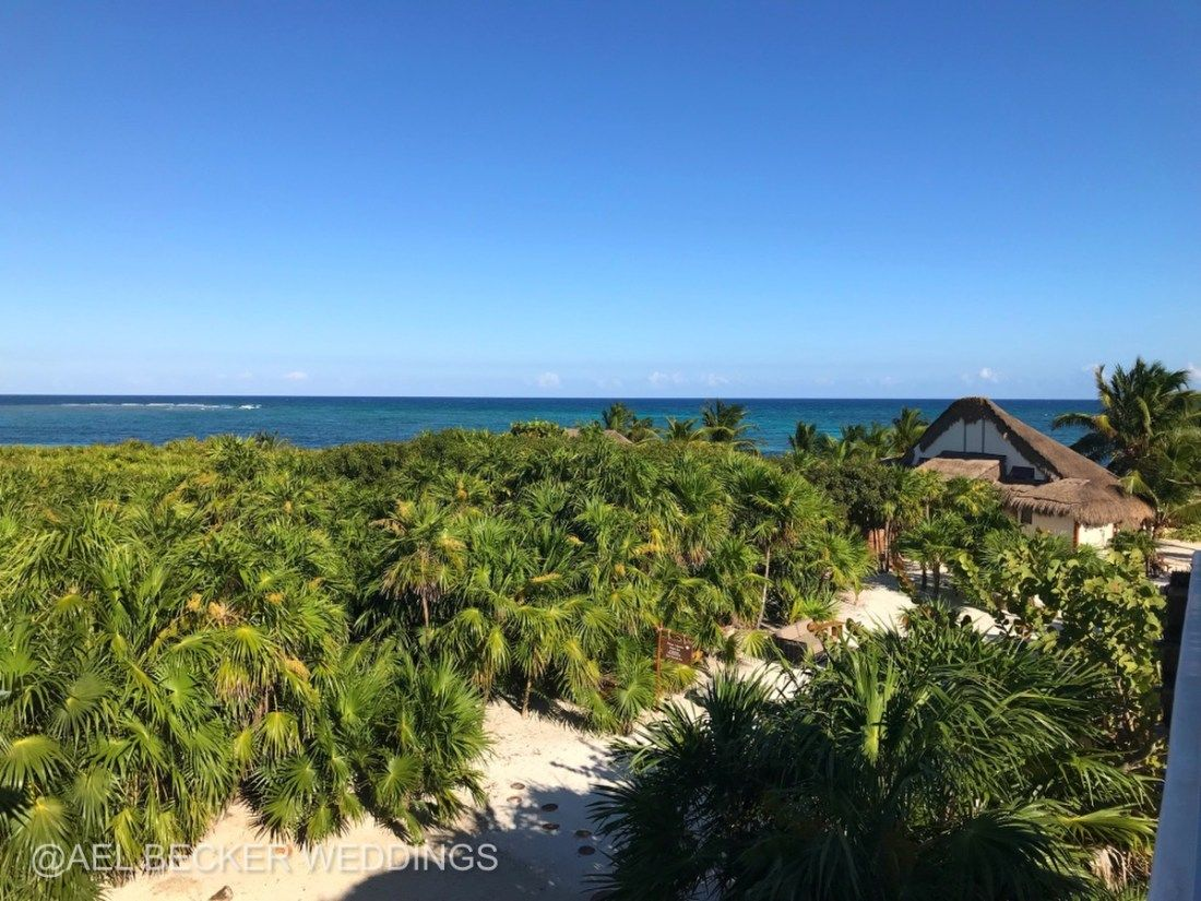 Mukan Resort Boutique Hotel Just South Of Tulum Mexico Ael Becker Weddings