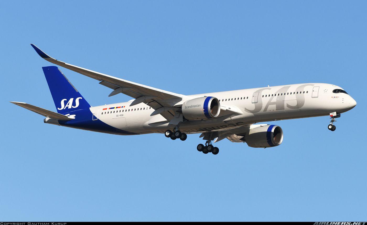 Airbus A350 941 Scandinavian Airlines Sas Aviation Photo 5911237 Airliners Net In 2020 Airbus Airlines Airplane Photography