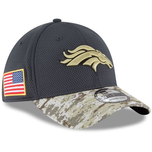 release date: 9958f 38b35 ... coupon code denver broncos 2016 new era nfl salute to service 39thirty sideline  hat cap l