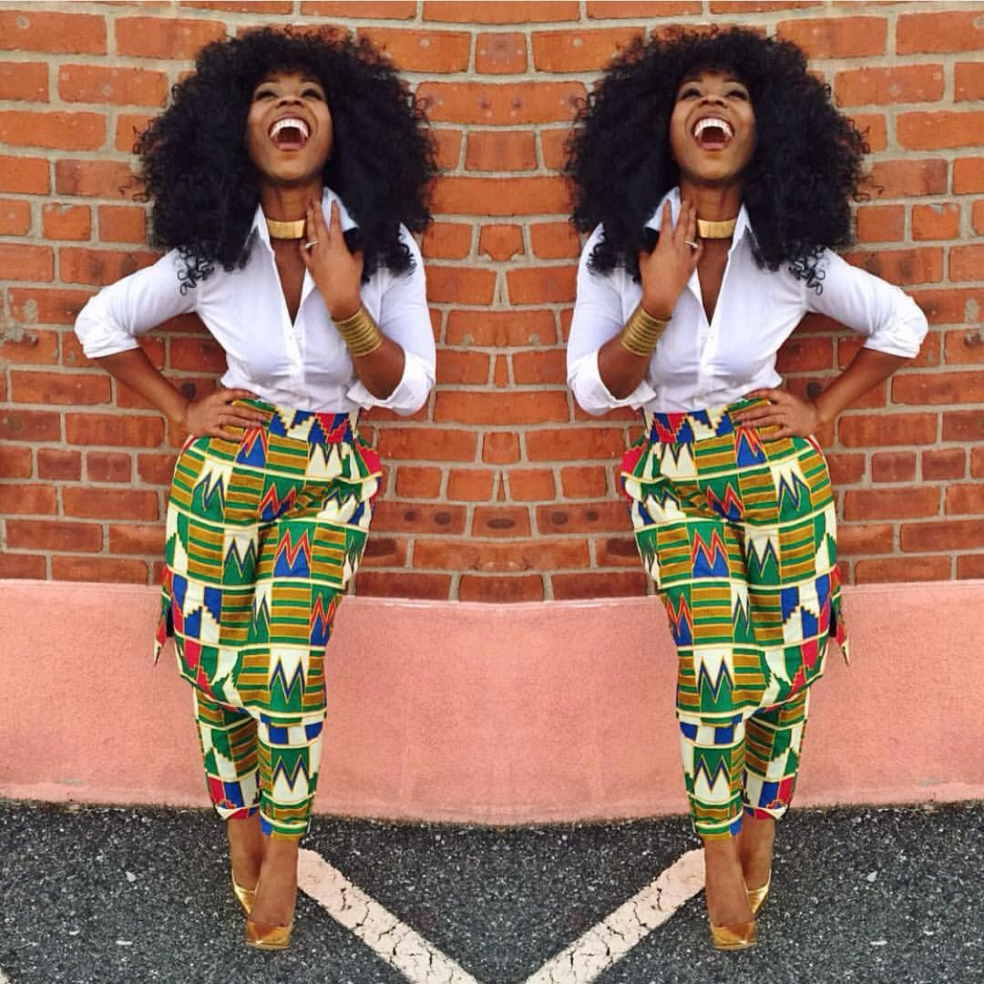 African print on fashion wear it pinterest africans