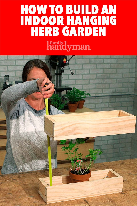 how to build an indoor hanging herb garden diy herb on indoor herb garden diy wall kitchens id=51739