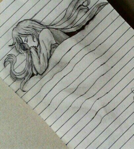 Pencil Creative Sleeping Drawing Easy For A Moment Image