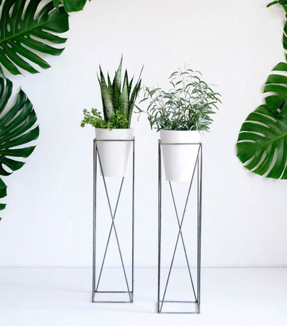 These 18 Plant Stands Will Double As Mood Enhancers Con Imagenes