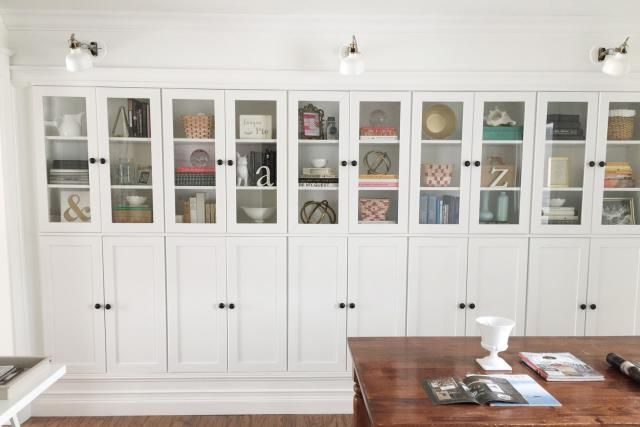 Credenza Borgsjo Ikea : How to use ikea billy bookcases in unusual ways apartment