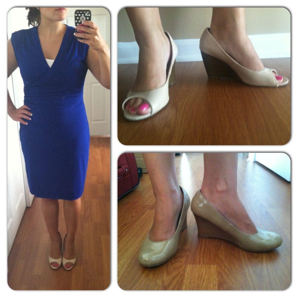 Great petite finds Cobalt Blue Dress
