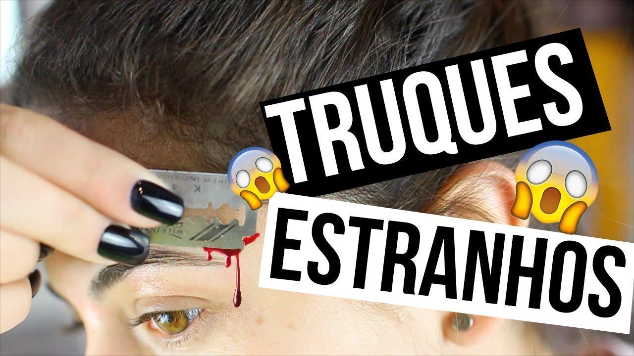TESTANDO TRUQUES BIZARROS QUE  REALMENTE FUNCIONAM!