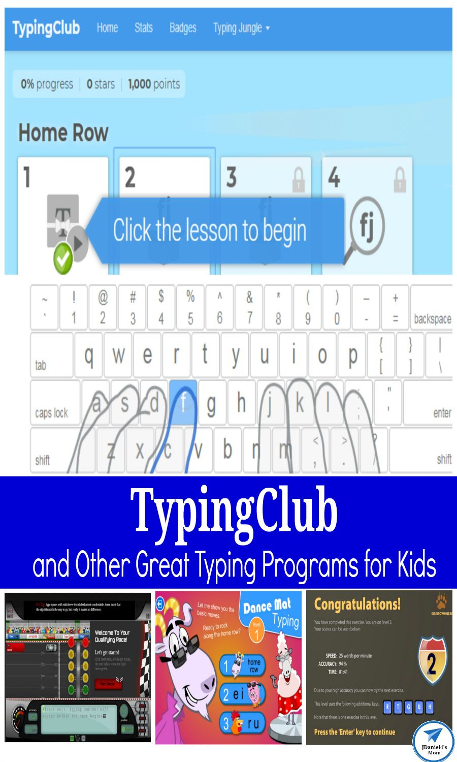 TypingClub and Other Great Typing Programs for Kids ...