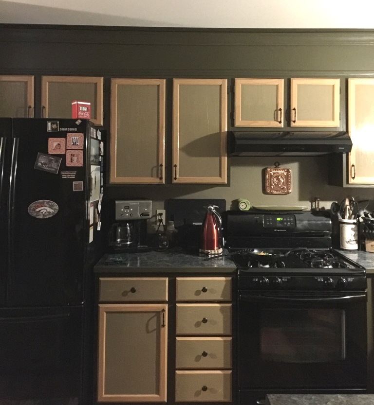 Update the space above kitchen cabinets   Above kitchen ...