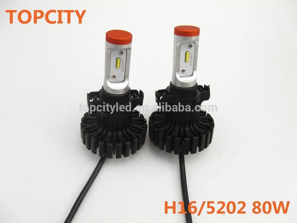wholesale head lamp kit h16 car led fog light car led lighting