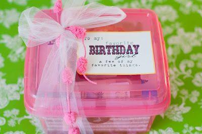Favorite Things Birthday Gift Box