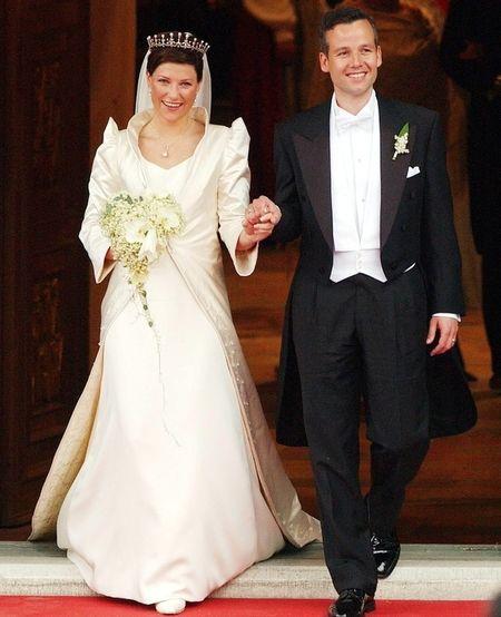 NORWAY: Princess Märtha Louise & Ari Behn. May 24, 2002.
