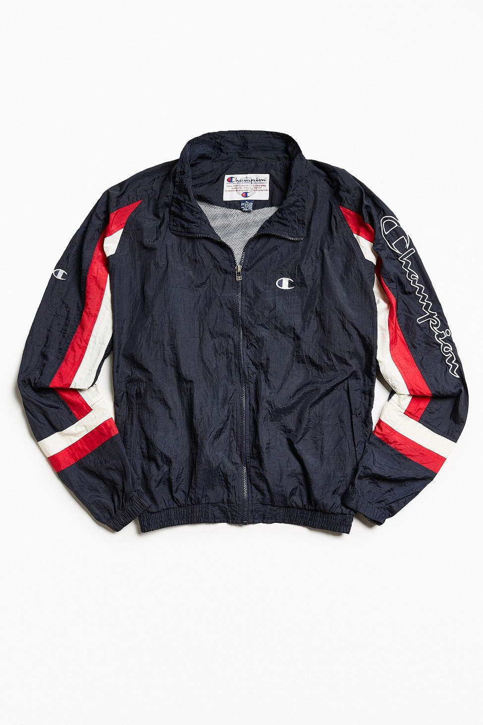 78bad23d122 Vintage Champion Windbreaker Jacket | retro sports jkt | Vintage ...