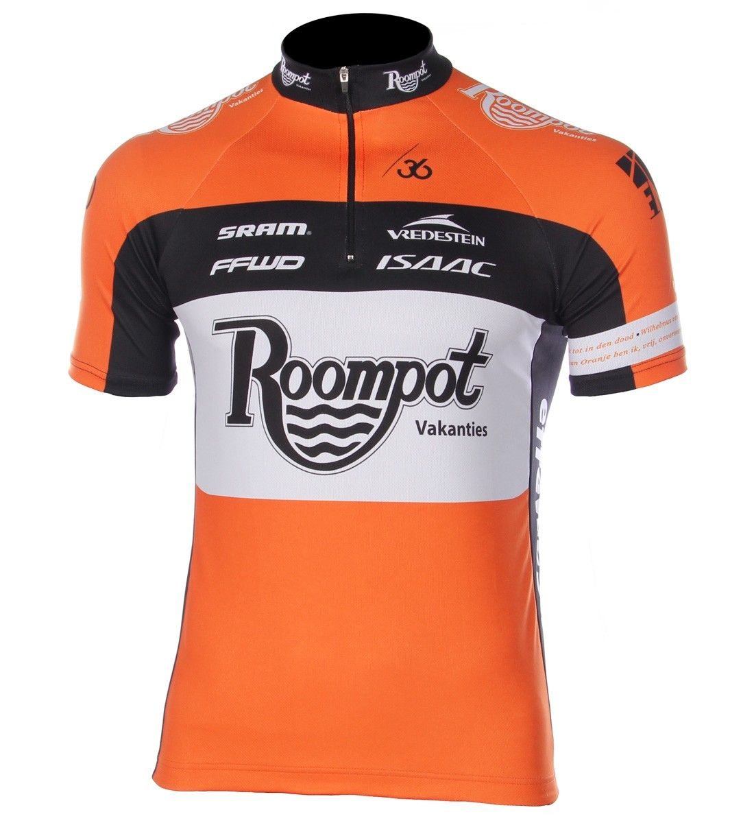 team roompot cycling jersey wielershirt fietskleding