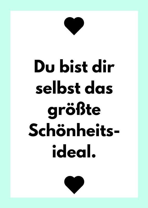Selflove Selbstliebe Leben Liebe Mut Poster A Pdf Druck Spruche Zitate Liebe