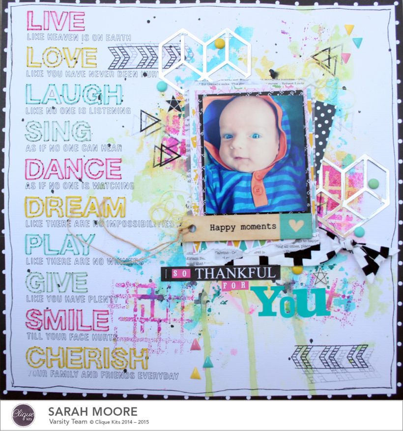 Stitching With Your Silhouette CAMEO | Clique Kits Blog #Scrapbooking