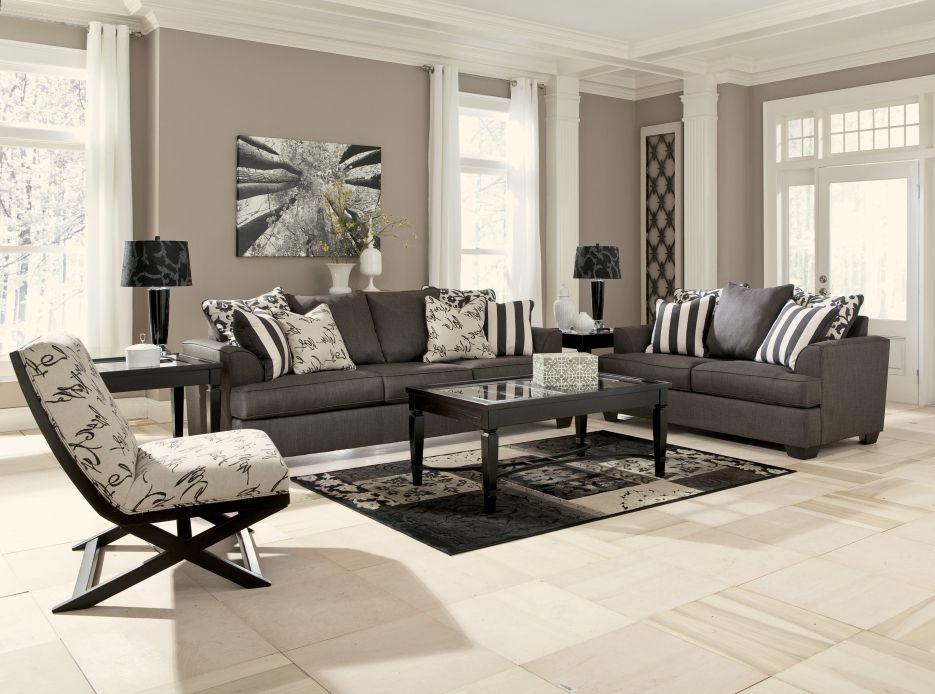 Attraktiv atemberaubende Dekoration schone grose wohnzimmer ...