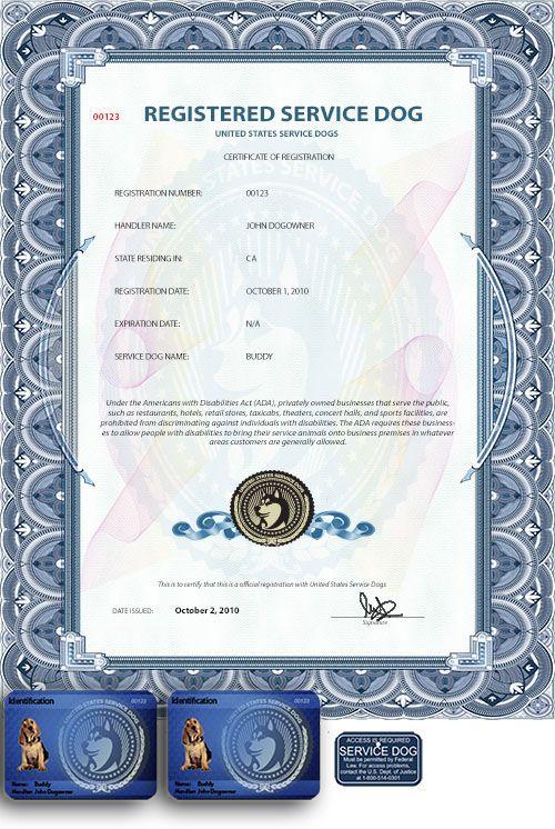 Us Dog Registry Service Dog Registration And Supplies Emotional Support Dog Support Dog Service Dogs