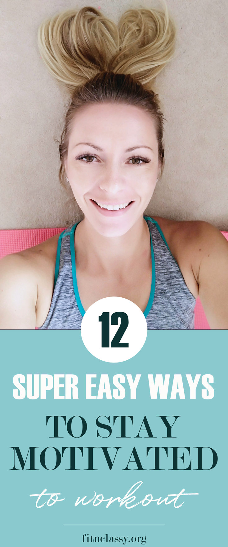 12 Super-Easy Ways To Stay Motivated ToWorkout #fitness #motivation #goals #fitnesstips #lifestyle