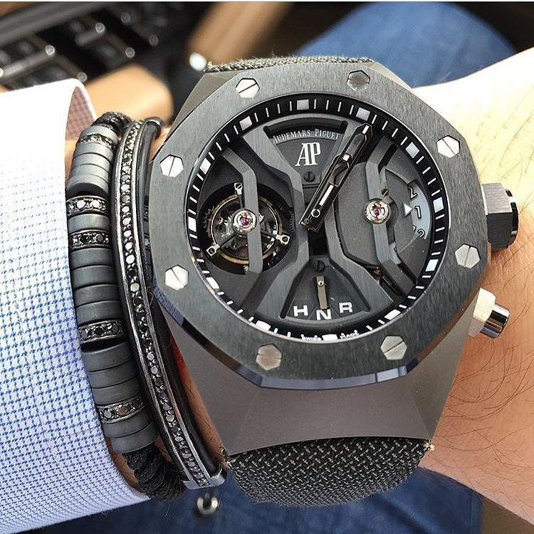 Amazing Audemars Piguet Royal Oak Concept Gmt Tourbillon