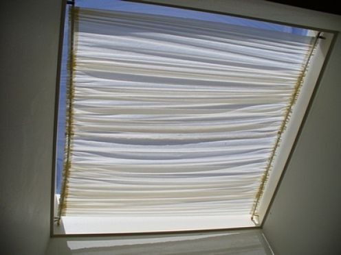 How To Make A Skylight Shade For The Home Skylight