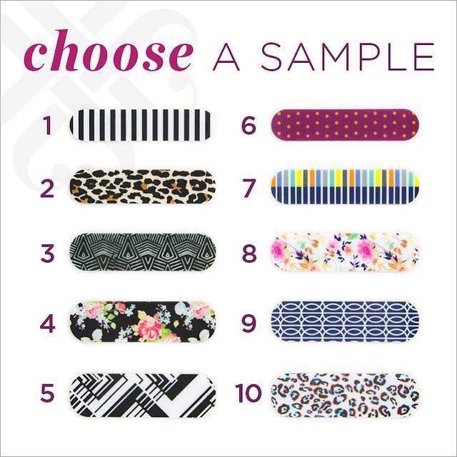 Choose a sample Jamberry Pinterest Jamberry