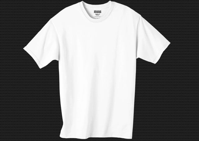 Download Blank T Shirt Template White Psd Blanktshirt Men Mentshirt Photoshop Psd Shortsleeve White Tshirt Template Kaos Desain Gambar