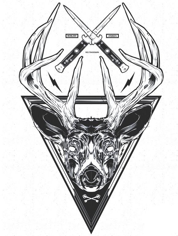 Graphic design art black and white  Hydro74 Illustration Graphic Design Art Poster Black and white 2 ...