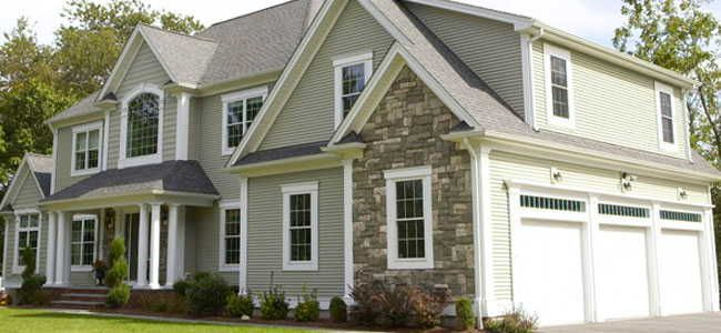 Scottish Thistle With Stone House Exterior Exterior House Colors Mastic Vinyl Siding