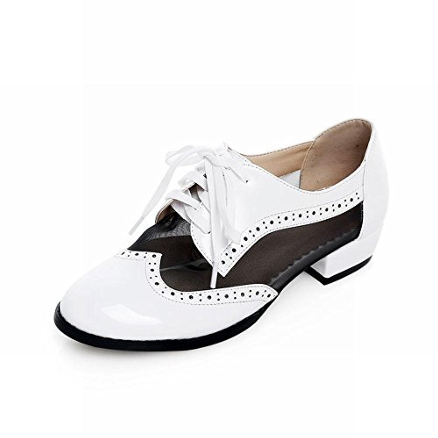 4b4fc873838d Show Shine Women s Fashion Mesh Oxfords Shoes (10