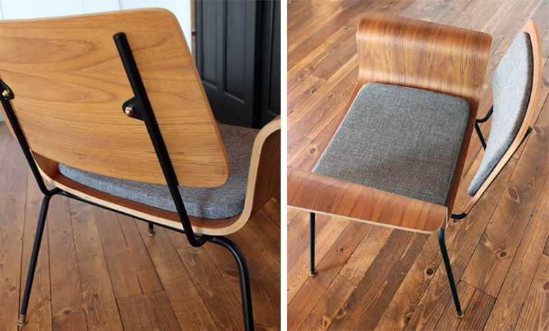 Bent Plywood Chairs Mid Century Inspiration Plywood