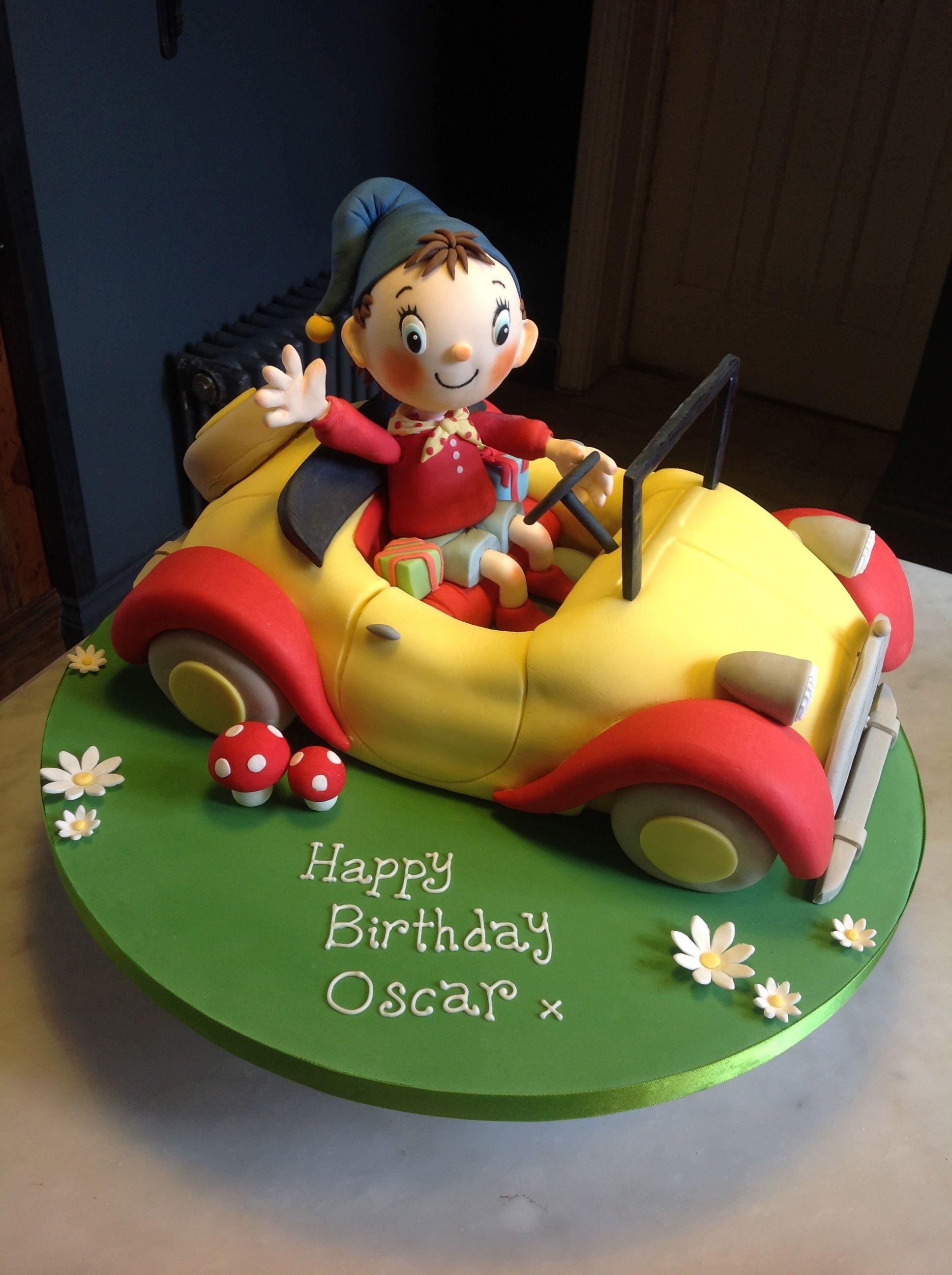 Noddy Cake By Canami Bespoke Cakes Patisseries Noddy Cake Cake Kids Cake