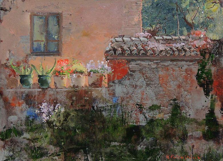 Ngel pintado sevilla el m s bello realismo espa ol actual trianarts pintores pinterest - Busco trabajo de pintor en madrid ...