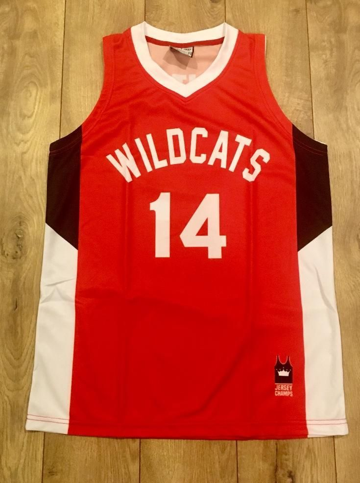 061063be2 Troy Bolton Wildcats Basketball Jersey Go Wildcats! PRODUCT FEATURES -  unique design - 100% polyester mesh - high quality colors and graphics -  breathable ...